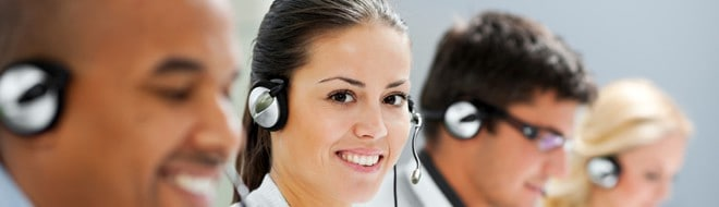 Customer Support Service Staff