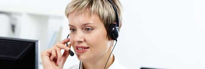 CMS virtual receptionist answering customer calls after hours
