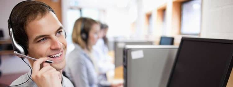 Employee help desk hotlines connect employees with on-call support staff