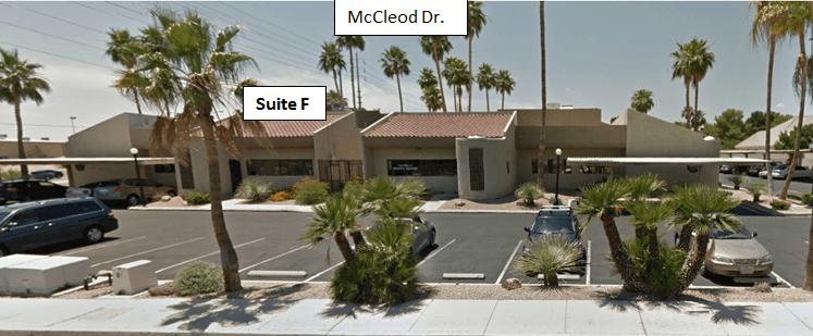 CMS Las Vegas office map
